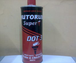 Autorube Brake Fluid Metal